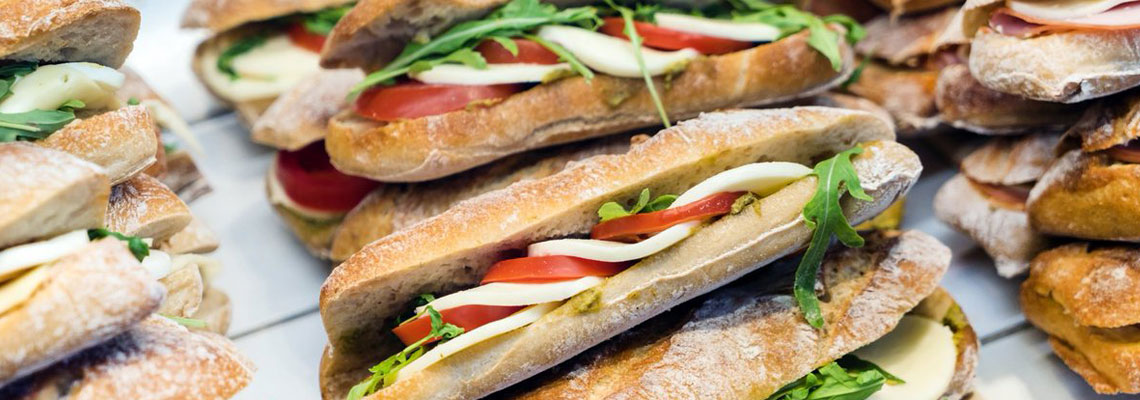 Sandwichs à emporter