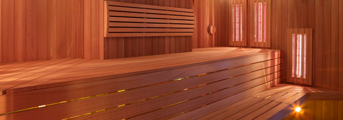 un sauna